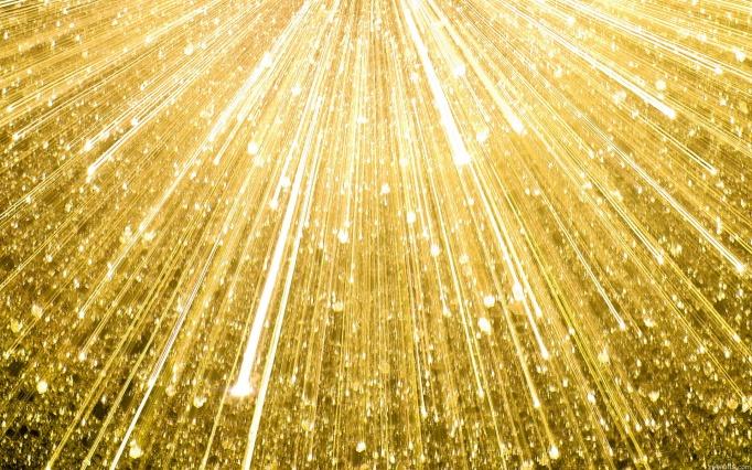 gold streaks