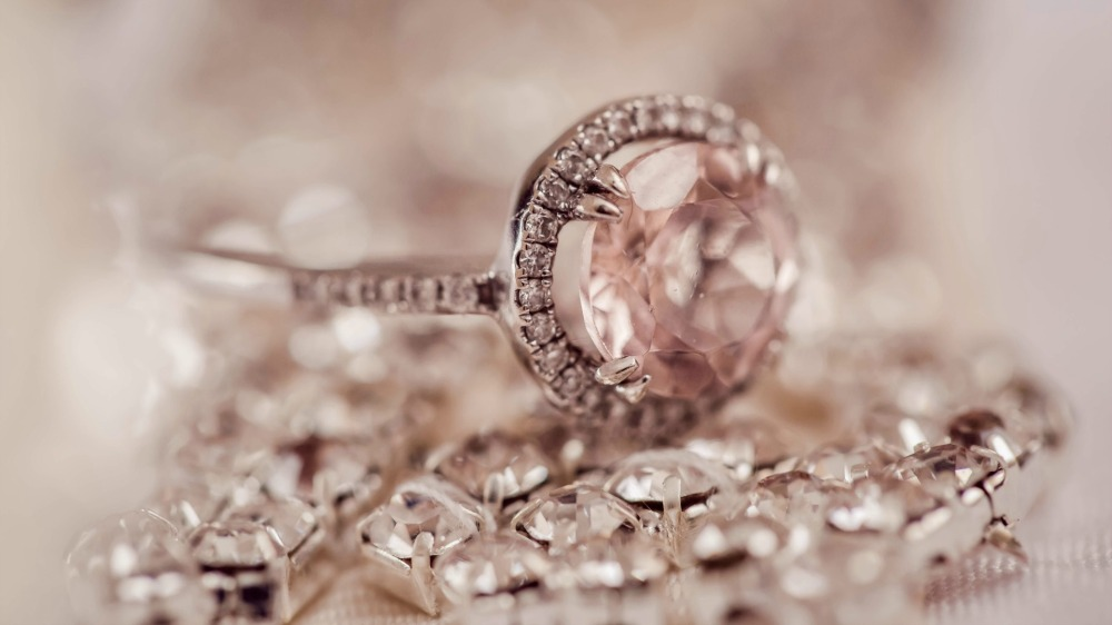 ring and diamonds