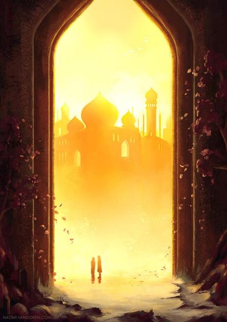 golden doorway